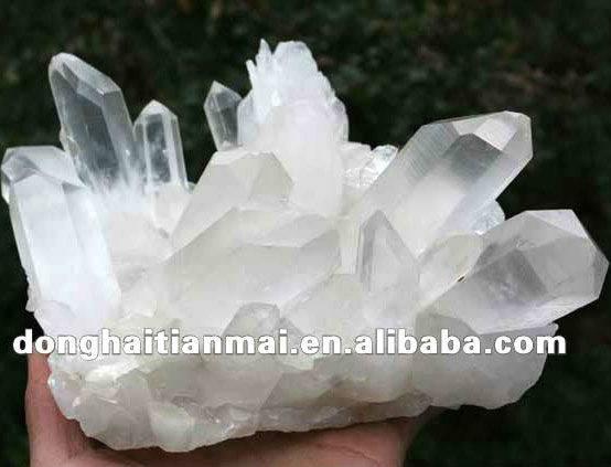 Decorative Large Natural Rock Quartz Clear Crystal Clusters Sale