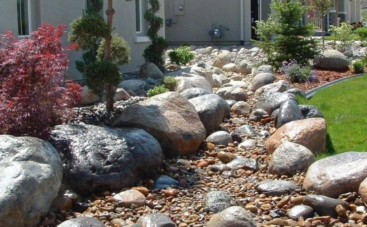 Decorative Rocks Landscaping Ideas Bistrodre Porch