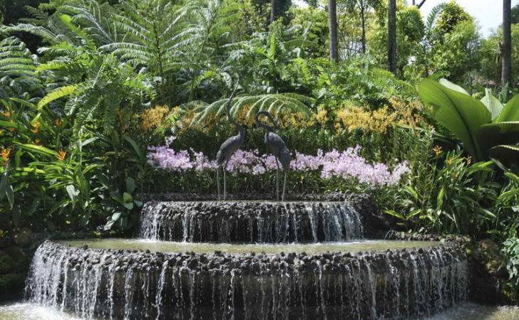 Decorative Waterfalls Design Landscaping Ideas