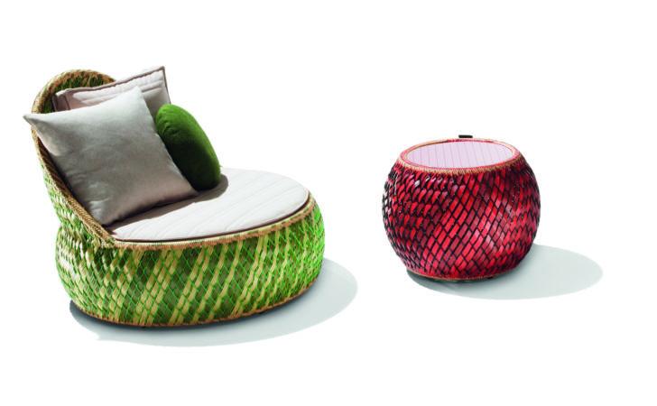 Dedon Cane Time Outdoor Furniture