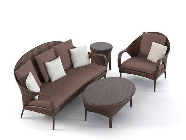 Dedon Tango Oudoor Furniture Model