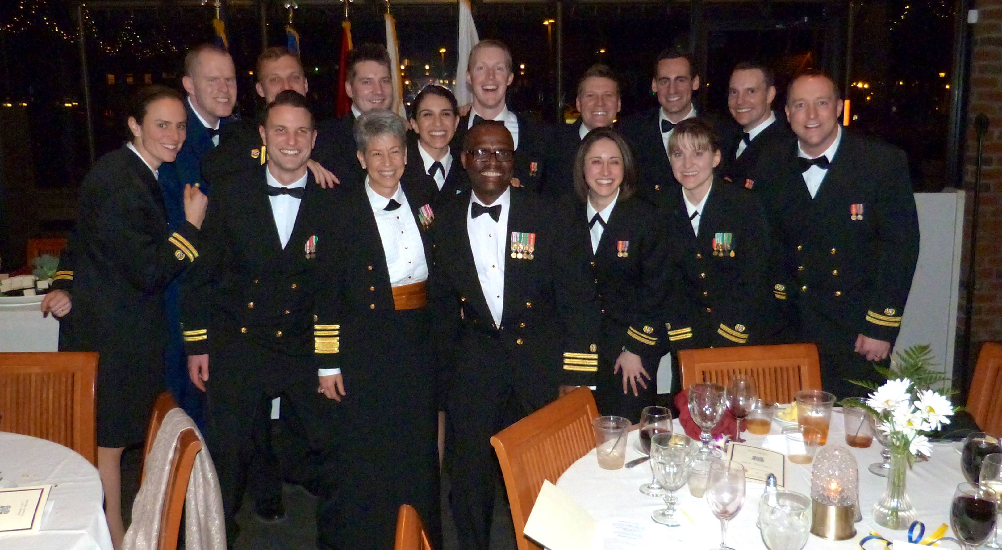 Defense Service Office North Hosted Joint Navy Dining Out