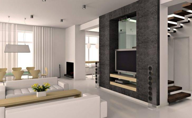 Definition White Design Interior Living Room Modern