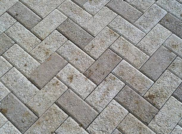 Degree Herringbone Pattern Hanover Prest Brick Patio Flickr