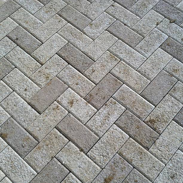 Degree Herringbone Pattern Hanover Prest Brick Patio Flickr
