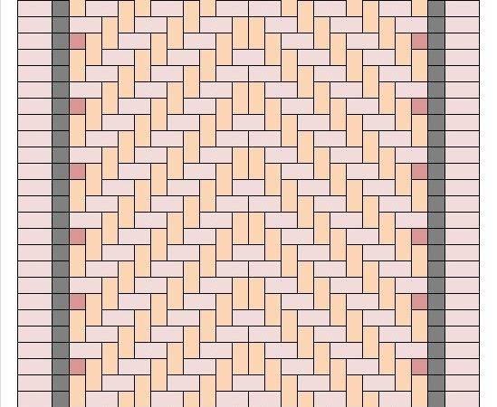 Degree Herringbone Pattern Pic Fly