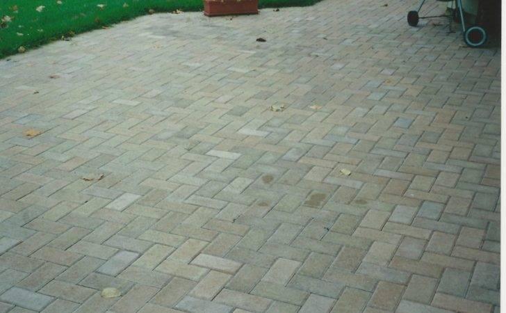 Degree Herringbone Paver Pattern Patios Walkways Driveways
