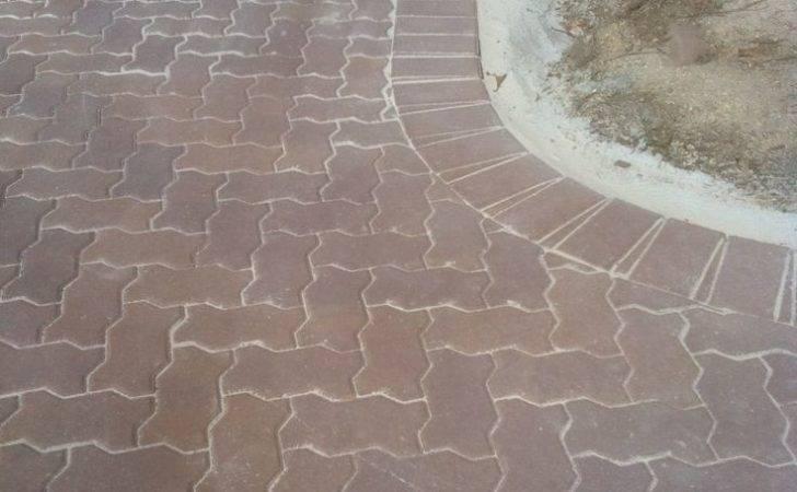 Degree Herringbone Retaining Wall High Sandstone