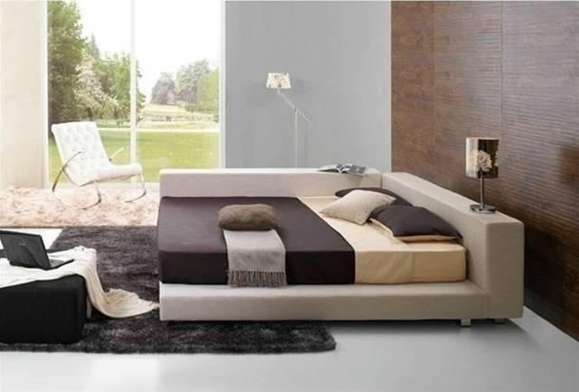 Deion Contemporary Bed Frame Beds Miami