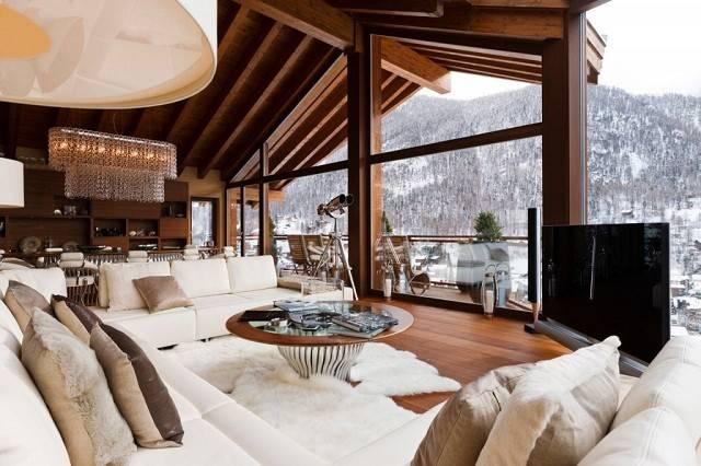 Dekoideen Von Luxuri Interior Trends Der Chalets Den Alpen