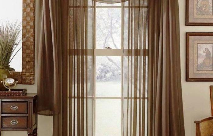 Delightful Sheer Curtain Designs Living Room