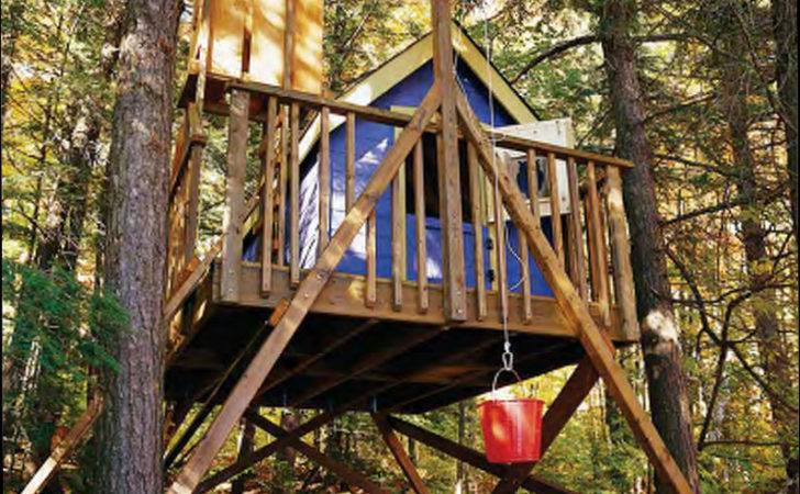 Deluxe Tree House Plans