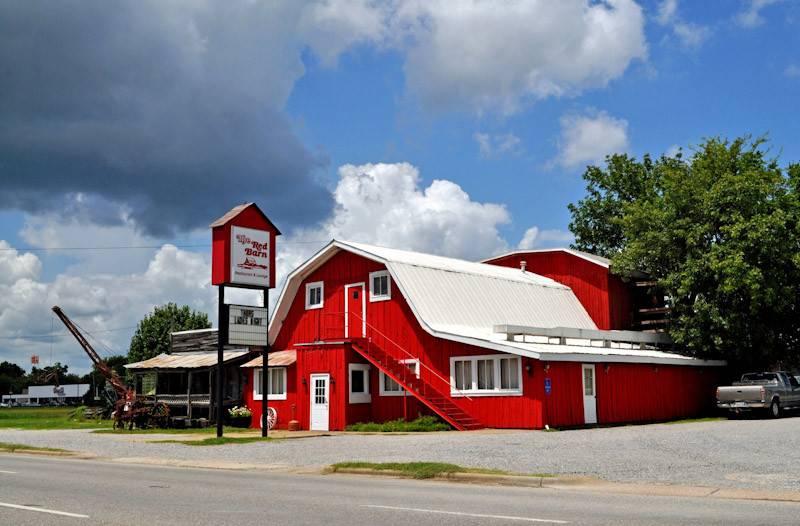 Demopolis Old Red Barn Restaurant Original