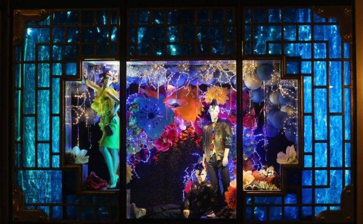 Department Stores Show Off Their Sparkling Christmas Window Displays