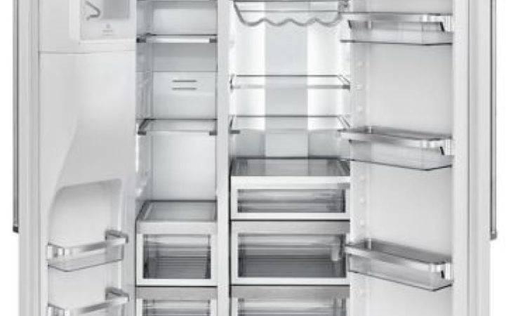 Depth Side Refrigerator Exterior Ice Water White