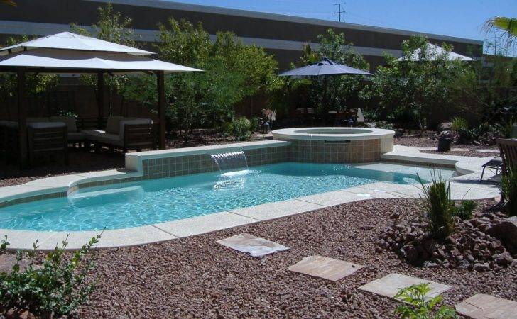Desert Landscaping Around Pool Design Ideas