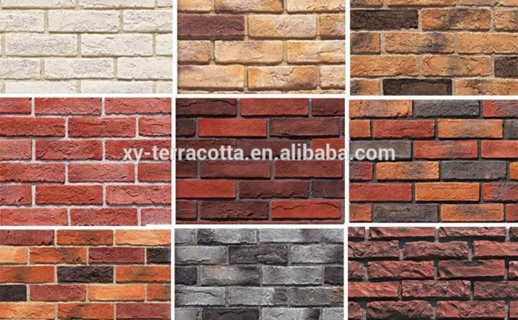 Design Brick Wall Artificial Interior Walls Lightweight