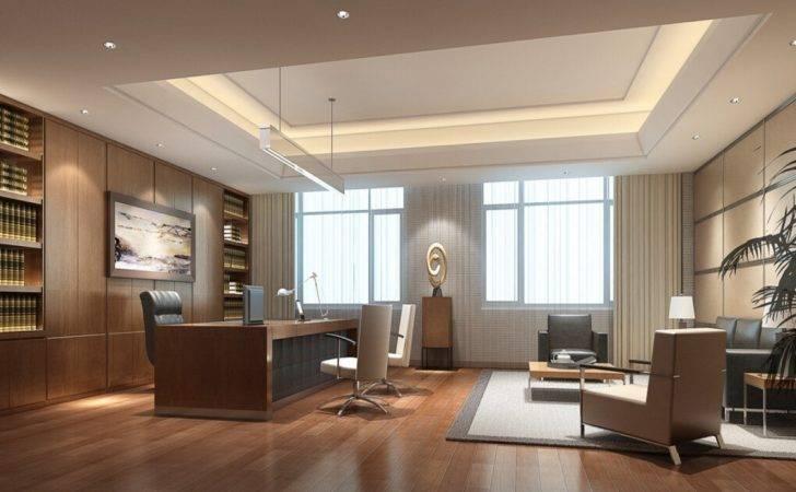 Design Ceo Office Interior Small Executive