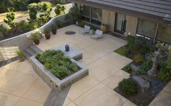 Design Custom Concrete Patio Ideas