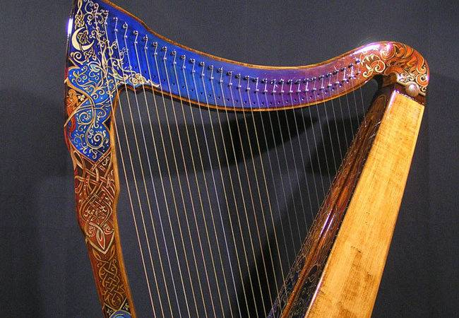 Design Decoration Harp