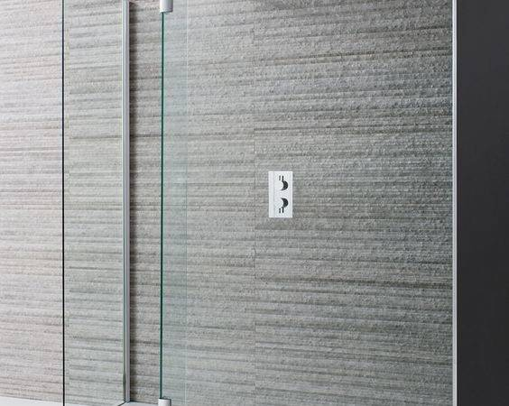 Design Double Sided Walk Shower Enclosure Luxury