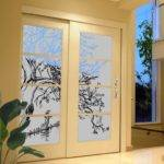 Design Frosted Opaque Glass Canvas
