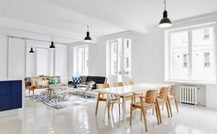Design Further Scandinavian Interior White Also