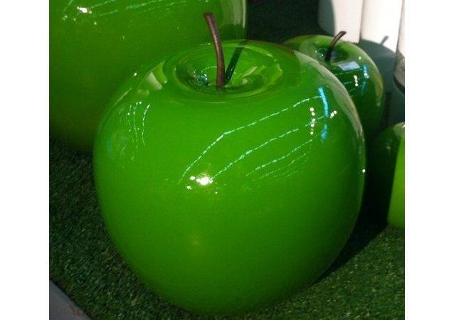 Design Green Glossy Apple