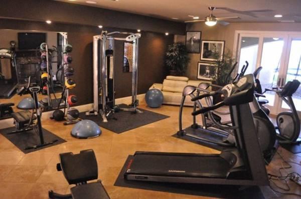 Design Home Gym Equipment Ideas Model