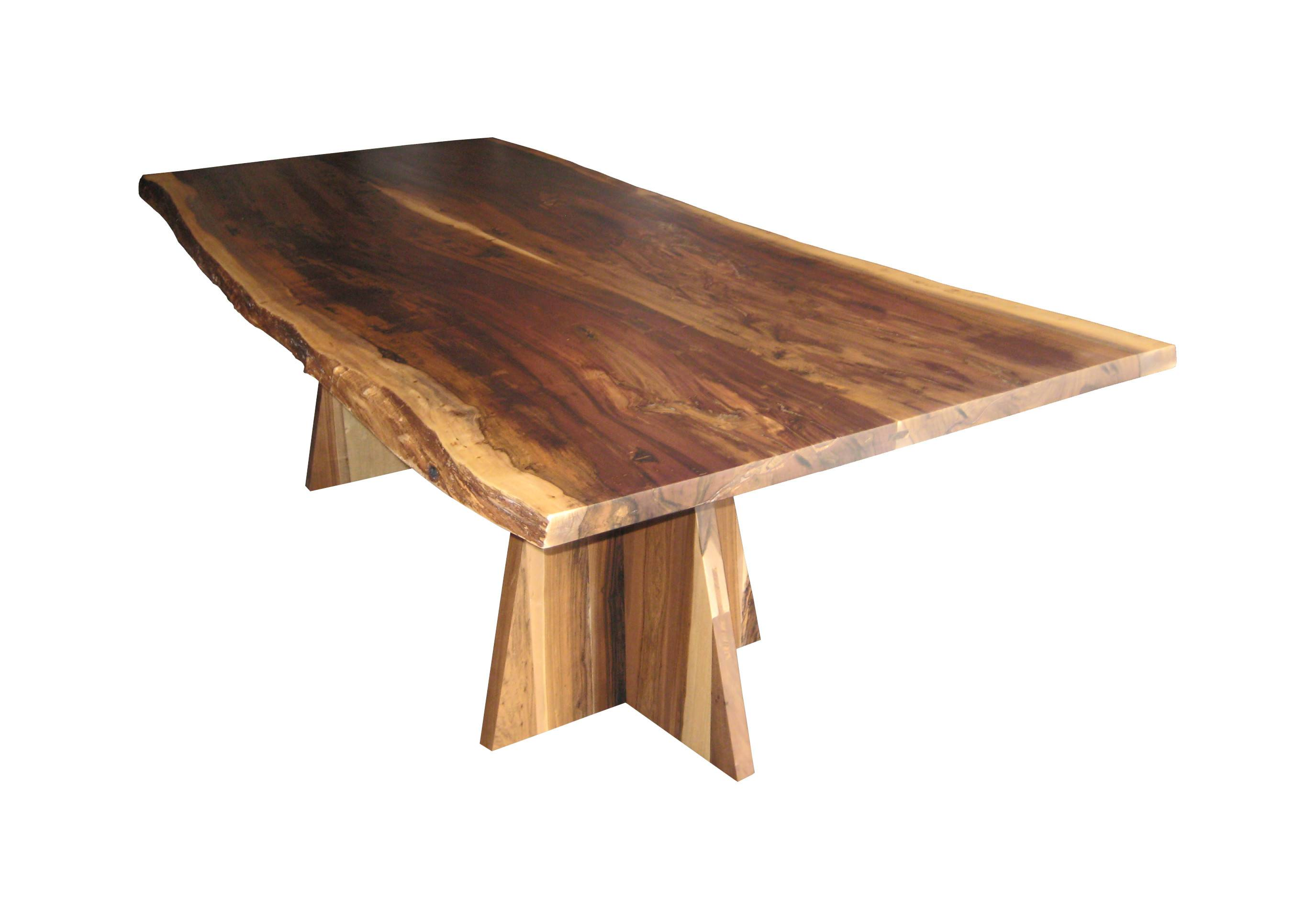 Design Inc Luca Live Edge Dining Table Furniture Room Tables