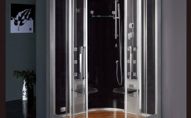 Design Luxury Tempered Glass Back Panels Sliding Doors Steam Shower