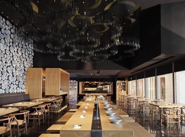 Design Magz Modern Restaurant Interior Minimalist Wall