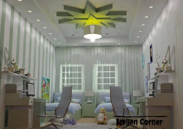 Design One Modern Gypsum Ceiling International Ideas