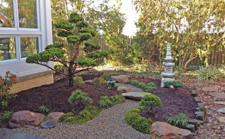 Design Outdoor Backyards Backyard Landscape Japanese