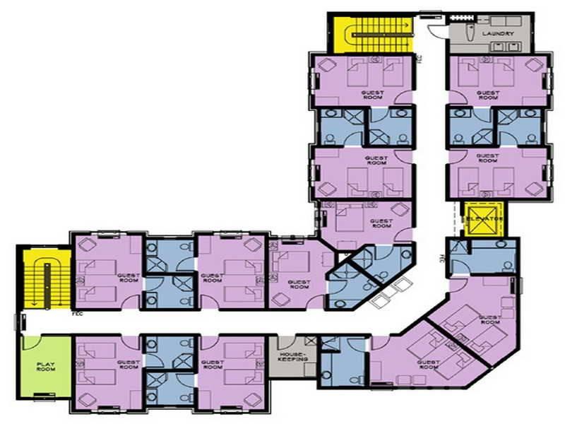 Design Plans Small Inn Hotel Joy Studio Best