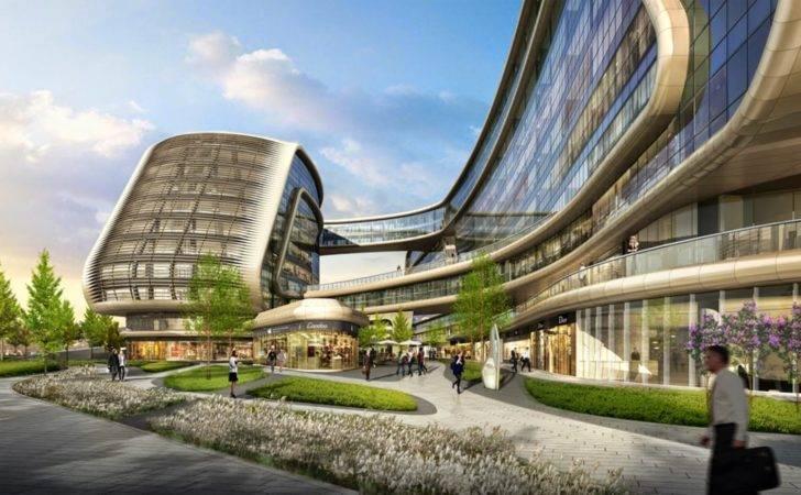 Design Sky Soho Shanghai China Zaha Hadid Architects