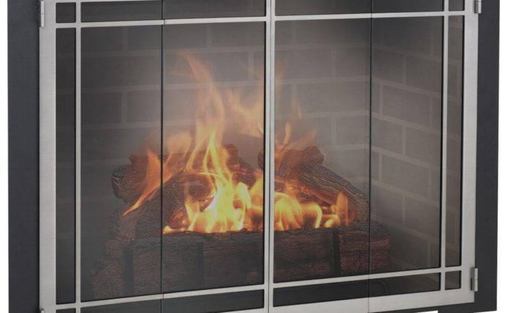 Design Specialties Charleston Glass Door Masonry Fireplaces