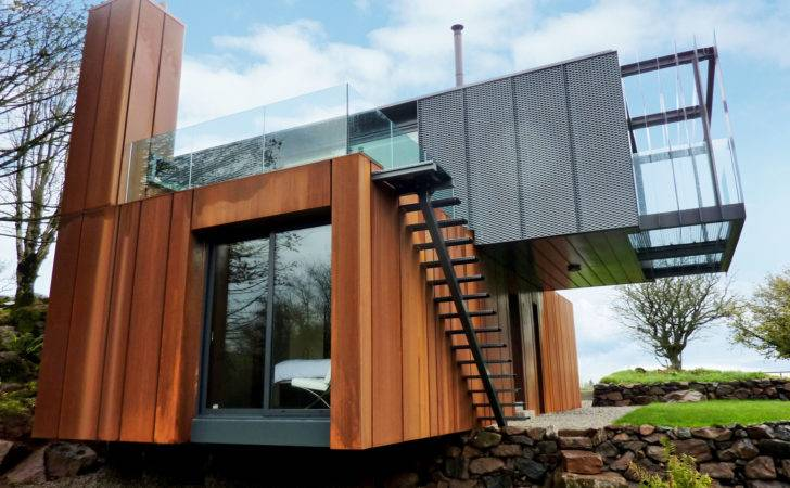 Design Water House Villa Container Houses Grand Designs