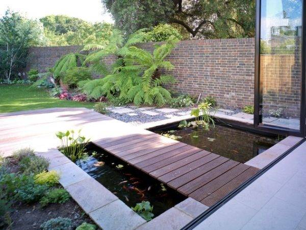 Design Your Garden Koi Pond Don Forget Add Cozy Sitting Area