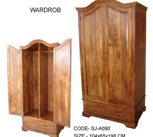 Designer Handcrafted Wooden Almirah Our