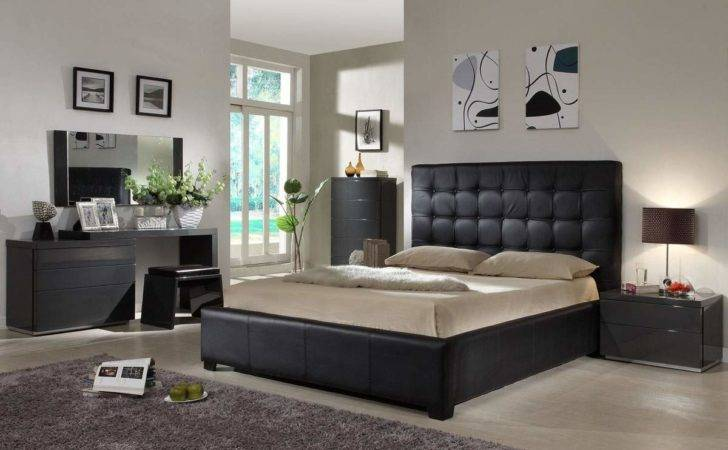 Designer Modern Beds Italian Leather Furniture