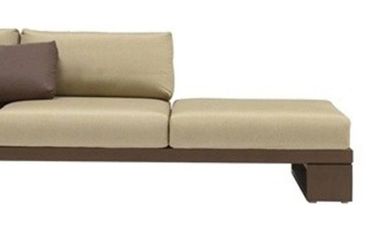 Designer Shaped Swiss Sofa Right Side