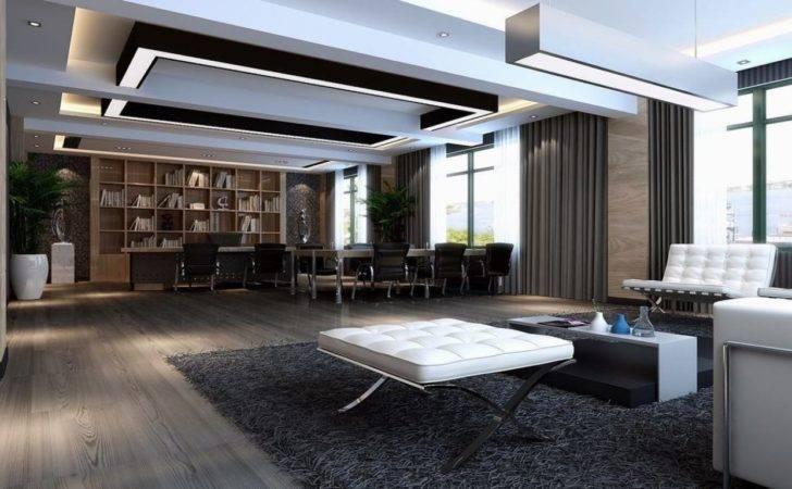Designs Modern Ceo Office Interior Design Executive