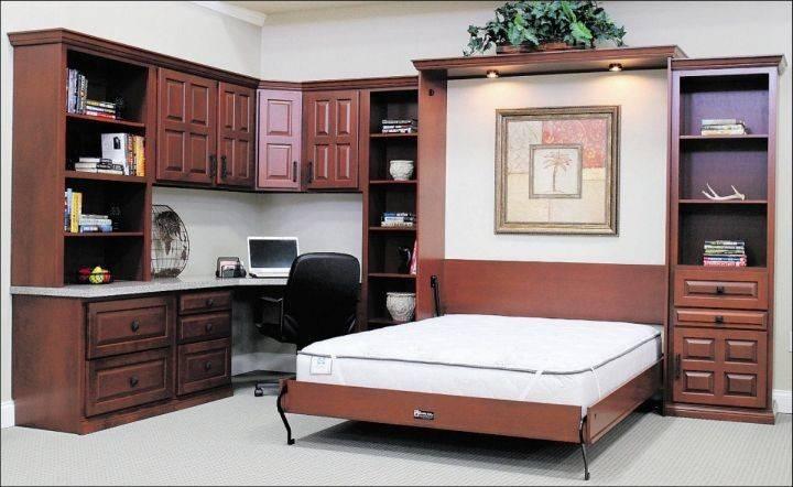 Desk Bed Combination Murphy