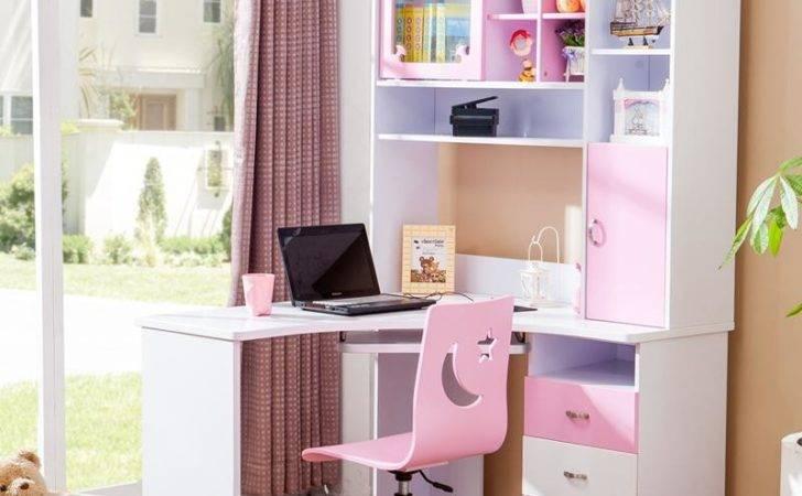 Desk Bedroom Fire Computer Right Angle Corner Desks