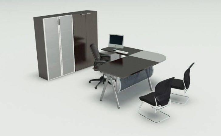 Desk Your Inspiration Black Grey Wooden Shaped Steel