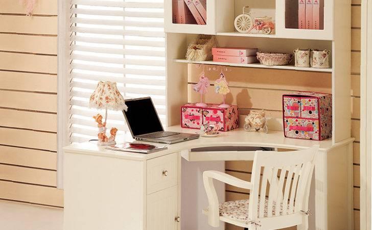 Desks Shelf Solid Wood Comuer Table Student Desk Office Corner