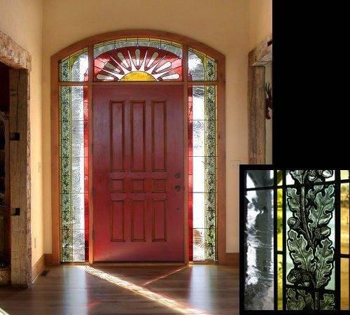 Detail Art Glass Windows Home Pinterest