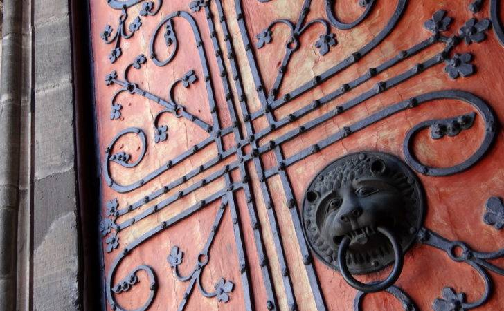Detail Doors Wrought Iron Design Marburg Germany
