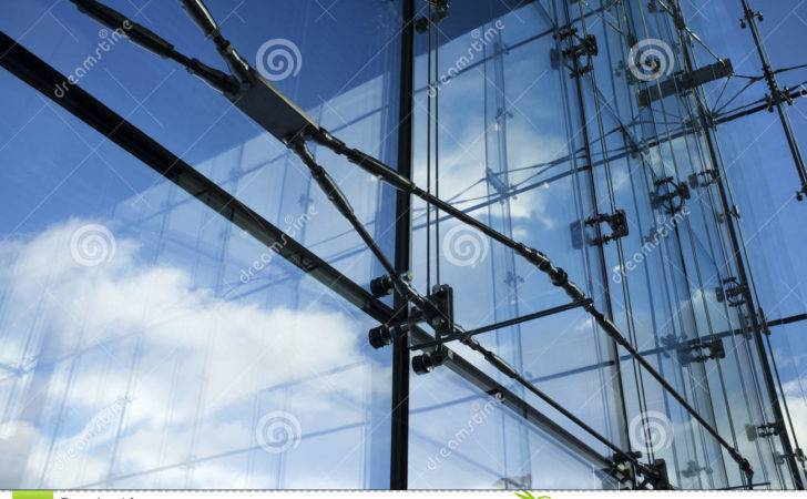 Detail Modern Architecture Interior Steel Glass Structures